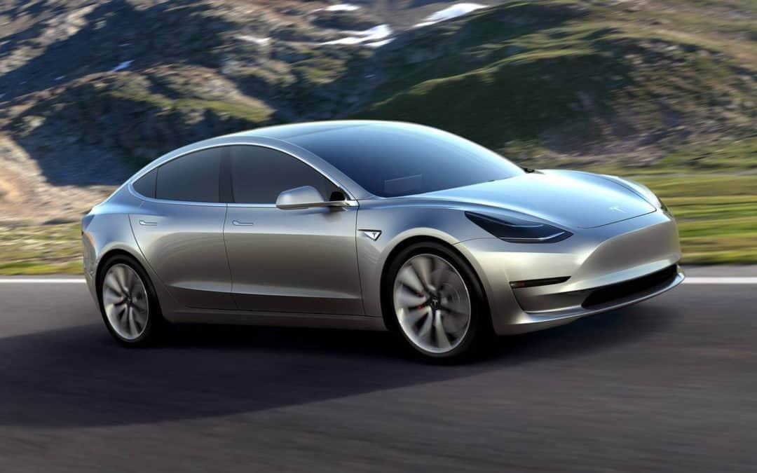 Auto market disrupted ✓ – Tesla Model 3