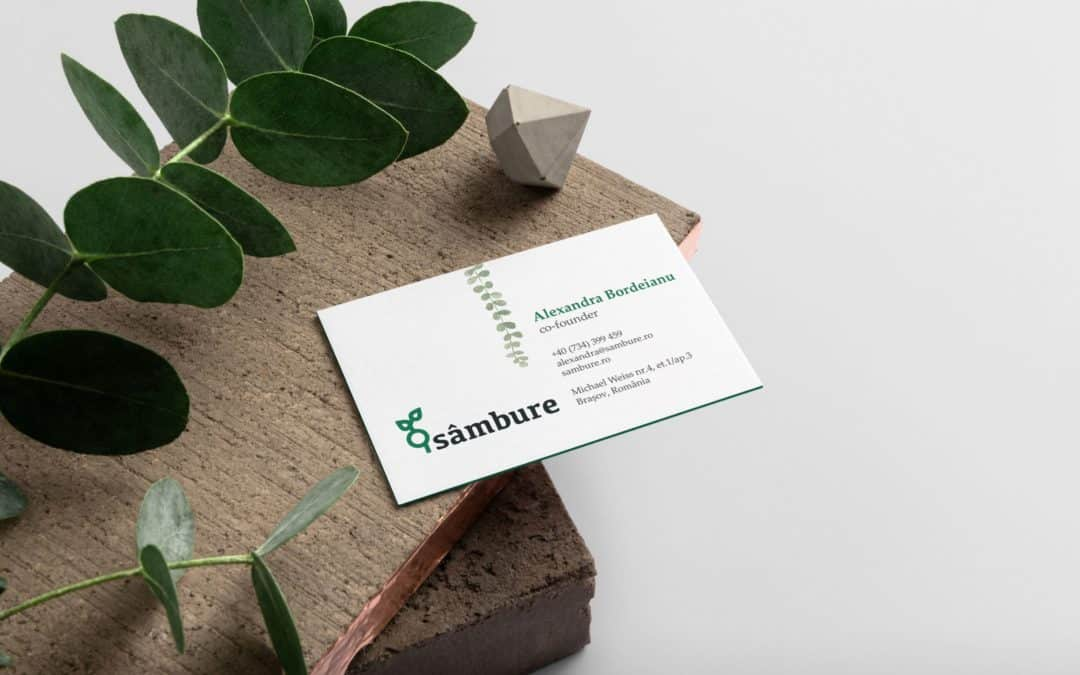 Sâmbure Business Cards
