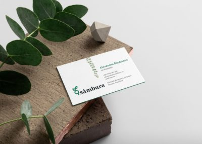 Sâmbure Business Cards